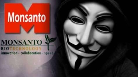 Anonymous ataca el sitio web de  Monsanto