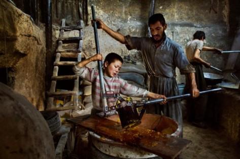 Fotografías sobre la explotacion laboral infantil