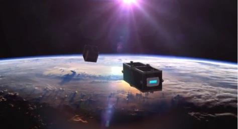 """Suiza construirá un """"satélite bedel"""" para limpiar la basura espacial"""