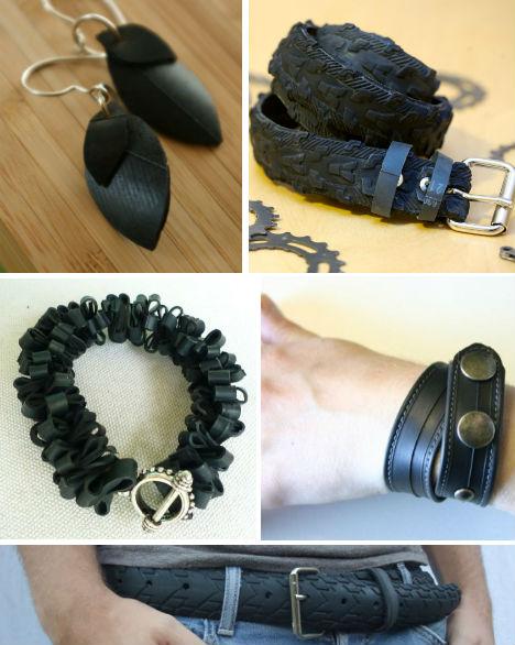 Cosas fabricadas con cauchos reciclados duendevisual for Muebles con cosas recicladas