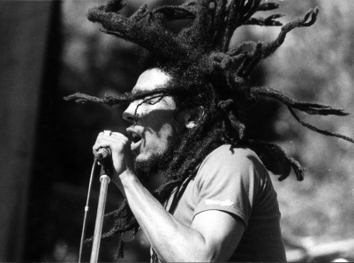 Jamaican reggae star Bob Marley (1945 - 1981). (Photo by Keystone/Getty Images)