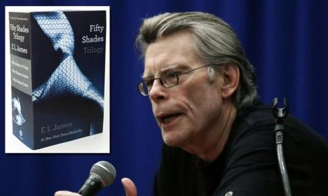 Stephen King: 50 sombras de Grey es basura, es porno para madres