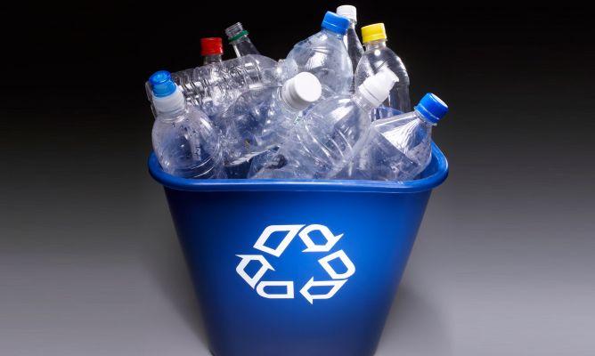 Como diferenciar los diferentes tipos de plásticos reciclados