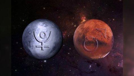 Marte y Plutón hacen erupción