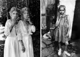 Sue Gallo Baugher et Faye Gallo,Twinsburg, Ohio, 1998 (left), Street Child,Trabzon, Turkey, 1965 (right)