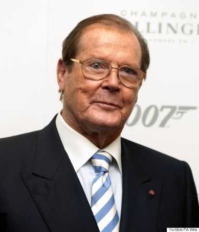 "File photo dated 5/10/2012 of Sir Roger Moore as Bond fans hoping to see more Moore will be disappointed after Sir Roger said he was ""hanging my safari suit back in the wardrobe""."